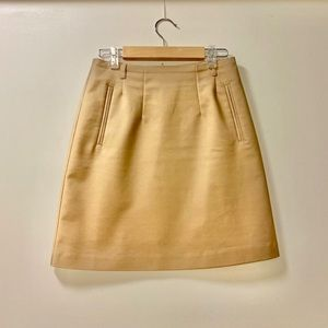 H&M work skirt in beige/caramel - size 2